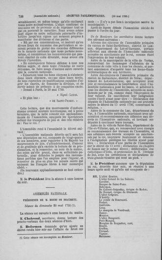 Tome 15 : Du 21 avril au 30 mai 1790 - page 738