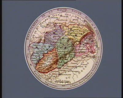 Departement de la Haute Saone divisé en 6 districts : [estampe]