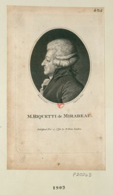 M. Riquetti de Mirabeau [estampe]