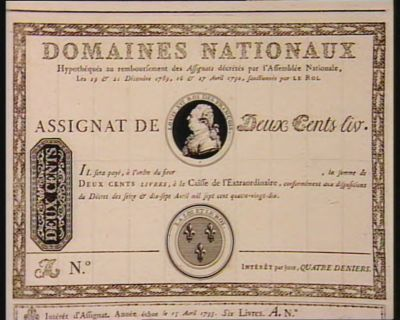 Assignat de deux cents liv [estampe]