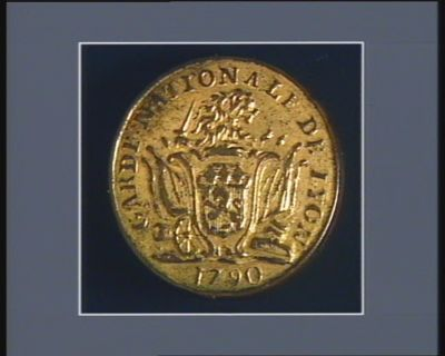 GARDE NATIONALE DE LYON 1790