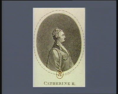 Catherine II [estampe]