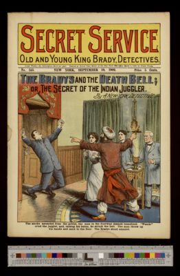 The Bradys and the Death Bell; or, The Secret of the Indian Juggler
