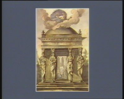 [Temple de l'Etre <em>suprême</em>] [dessin]