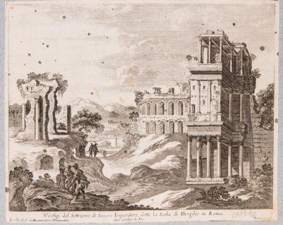 Palatino, Settizonio e costruzione della Domus Severiana