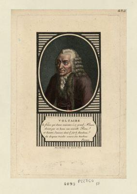 Voltaire la France qui donna naissance à ce grand homme... : [estampe]