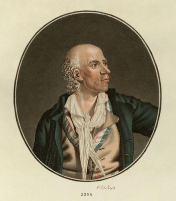 Joseph Chalier, président du district de Lion en 1793 je donne mon âme à l'Eternel, mon coeur aux patriotes, et mon corps aux brigands. Ce <em>martyr</em> de la liberté déjà frappé d'un premier coup, insensible à la douleur, frappe, dit il au boureau, et m'attache vite une cocarde, je meurs pour la liberté : [estampe]
