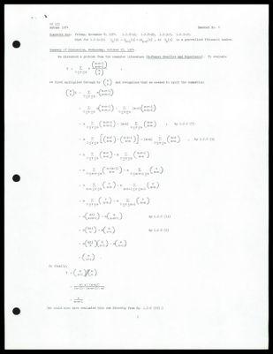 CS 155 1974 - Handout No. 6