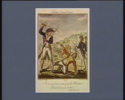 Juban, sergent major je ne me bats point pour la montre ! Rends-toi ou je te tue... 6 mai 1793 v.s. : [estampe]
