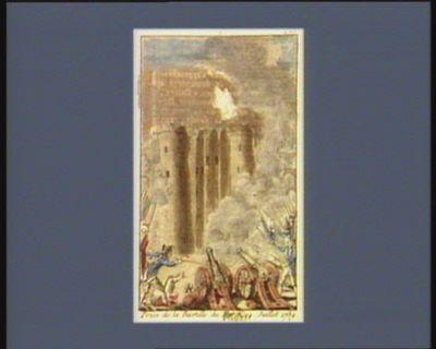 Prise de la Bastille du mardi 14 juillet 1789 [estampe]