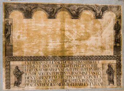 Chiesa di S. Sabina, mosaico del sec. V