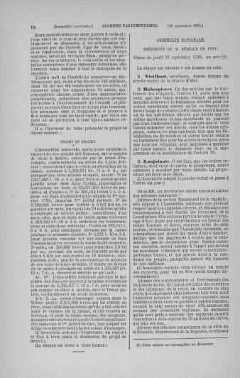 Tome 19 : Du 16 septembre au 23 octobre 1790 - page 18