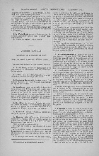 Tome 19 : Du 16 septembre au 23 octobre 1790 - page 46