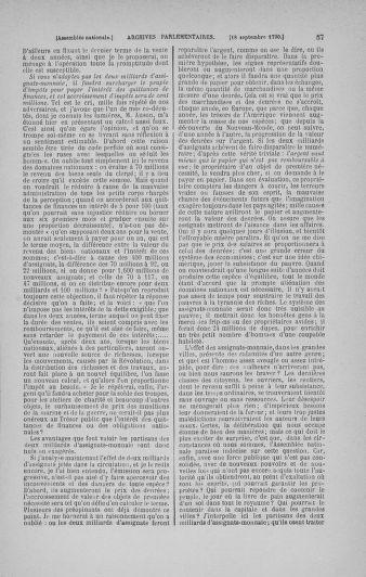 Tome 19 : Du 16 septembre au 23 octobre 1790 - page 57