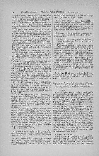 Tome 19 : Du 16 septembre au 23 octobre 1790 - page 68