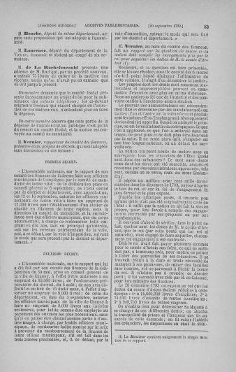 Tome 19 : Du 16 septembre au 23 octobre 1790 - page 83