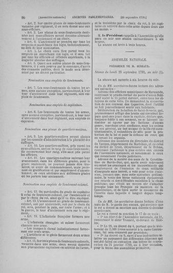 Tome 19 : Du 16 septembre au 23 octobre 1790 - page 90