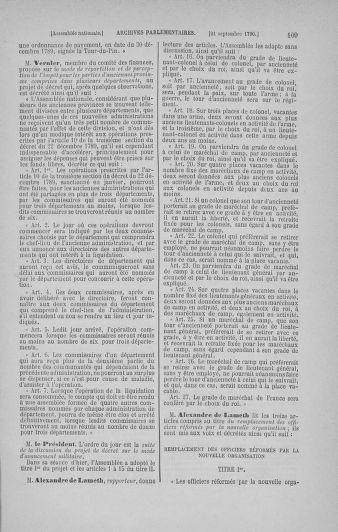 Tome 19 : Du 16 septembre au 23 octobre 1790 - page 109