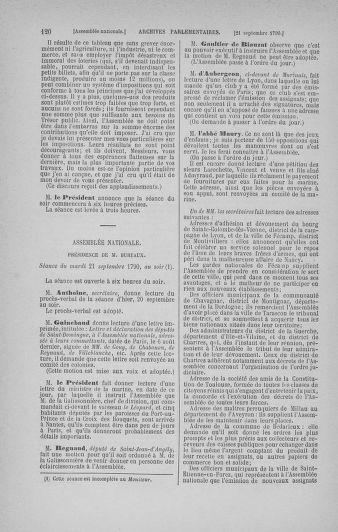 Tome 19 : Du 16 septembre au 23 octobre 1790 - page 120