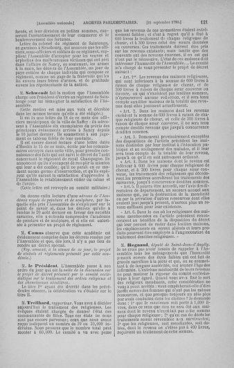 Tome 19 : Du 16 septembre au 23 octobre 1790 - page 121