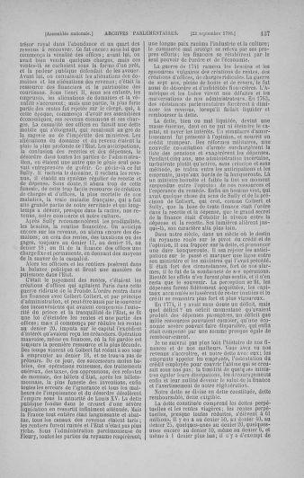 Tome 19 : Du 16 septembre au 23 octobre 1790 - page 137
