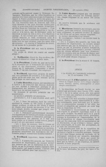 Tome 19 : Du 16 septembre au 23 octobre 1790 - page 176