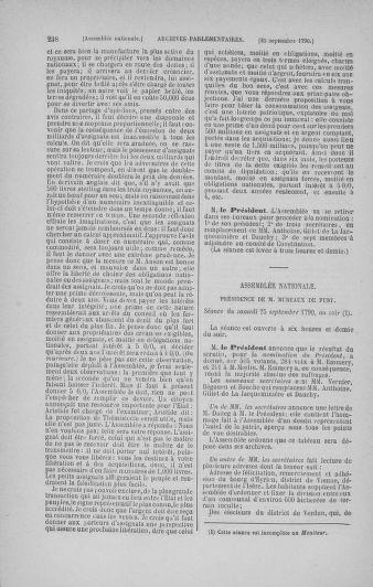 Tome 19 : Du 16 septembre au 23 octobre 1790 - page 238