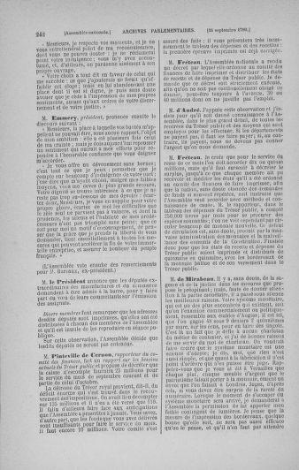 Tome 19 : Du 16 septembre au 23 octobre 1790 - page 242
