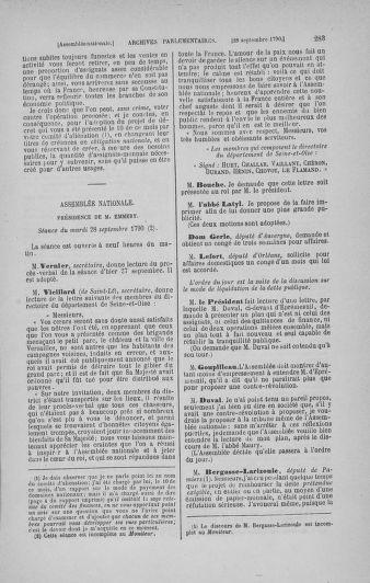 Tome 19 : Du 16 septembre au 23 octobre 1790 - page 283