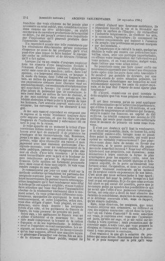 Tome 19 : Du 16 septembre au 23 octobre 1790 - page 284