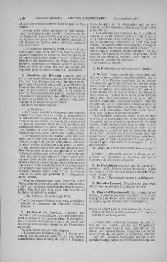 Tome 19 : Du 16 septembre au 23 octobre 1790 - page 310