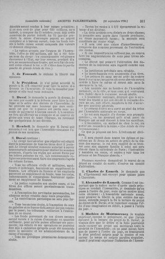 Tome 19 : Du 16 septembre au 23 octobre 1790 - page 311