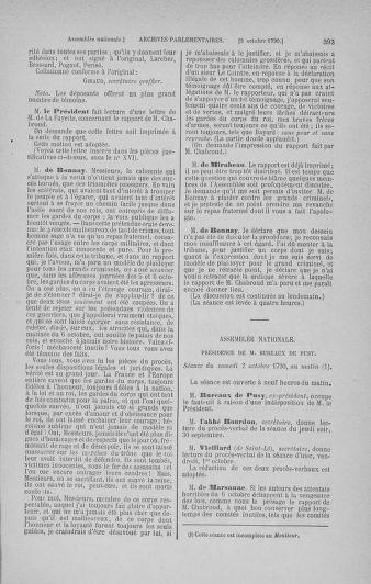 Tome 19 : Du 16 septembre au 23 octobre 1790 - page 393
