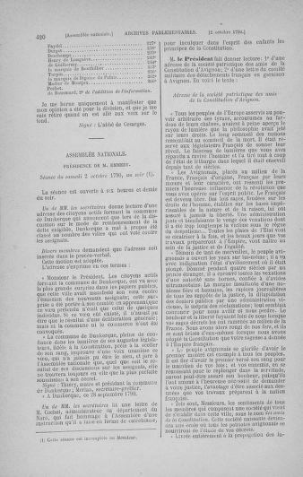 Tome 19 : Du 16 septembre au 23 octobre 1790 - page 420