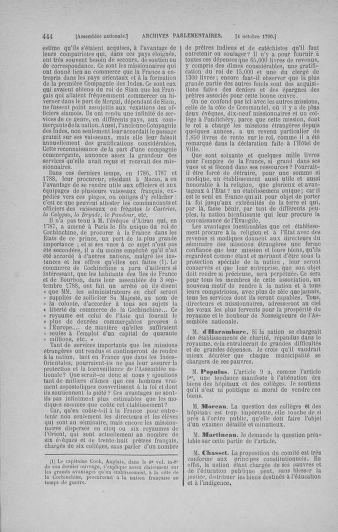 Tome 19 : Du 16 septembre au 23 octobre 1790 - page 444