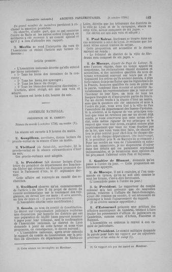 Tome 19 : Du 16 septembre au 23 octobre 1790 - page 445