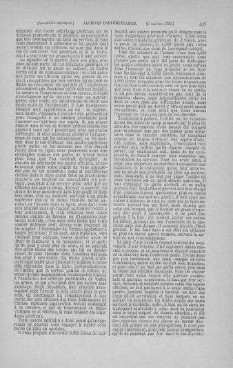 Tome 19 : Du 16 septembre au 23 octobre 1790 - page 447
