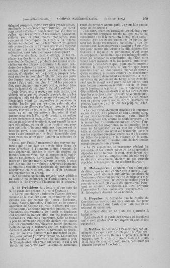 Tome 19 : Du 16 septembre au 23 octobre 1790 - page 469