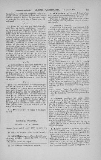 Tome 19 : Du 16 septembre au 23 octobre 1790 - page 471