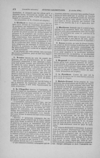 Tome 19 : Du 16 septembre au 23 octobre 1790 - page 472