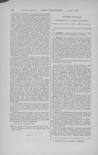 Tome 19 : Du 16 septembre au 23 octobre 1790 - page 486