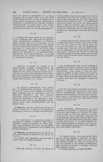 Tome 19 : Du 16 septembre au 23 octobre 1790 - page 488