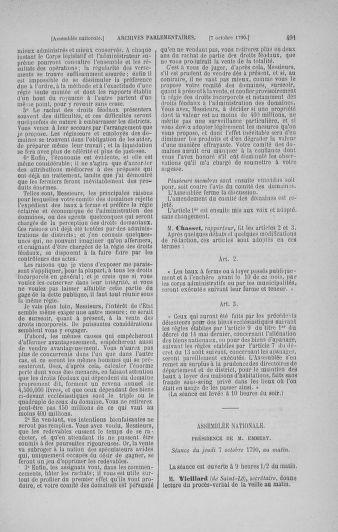 Tome 19 : Du 16 septembre au 23 octobre 1790 - page 491