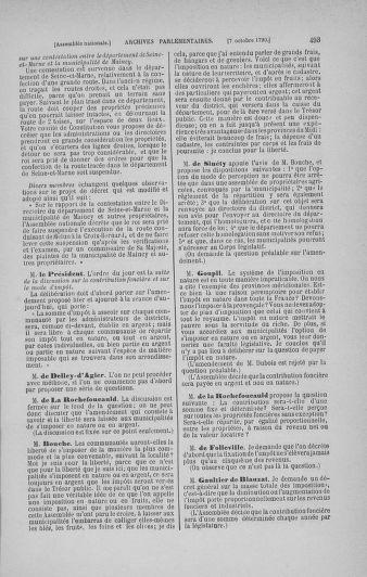 Tome 19 : Du 16 septembre au 23 octobre 1790 - page 493