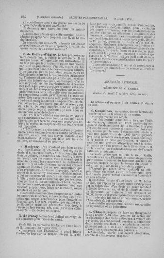 Tome 19 : Du 16 septembre au 23 octobre 1790 - page 494