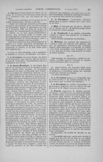 Tome 19 : Du 16 septembre au 23 octobre 1790 - page 495