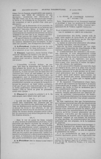 Tome 19 : Du 16 septembre au 23 octobre 1790 - page 496