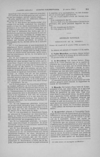 Tome 19 : Du 16 septembre au 23 octobre 1790 - page 501