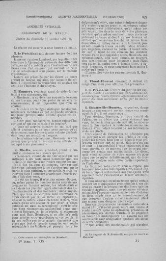 Tome 19 : Du 16 septembre au 23 octobre 1790 - page 529