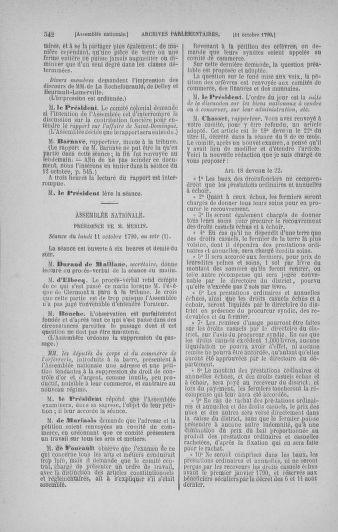 Tome 19 : Du 16 septembre au 23 octobre 1790 - page 542